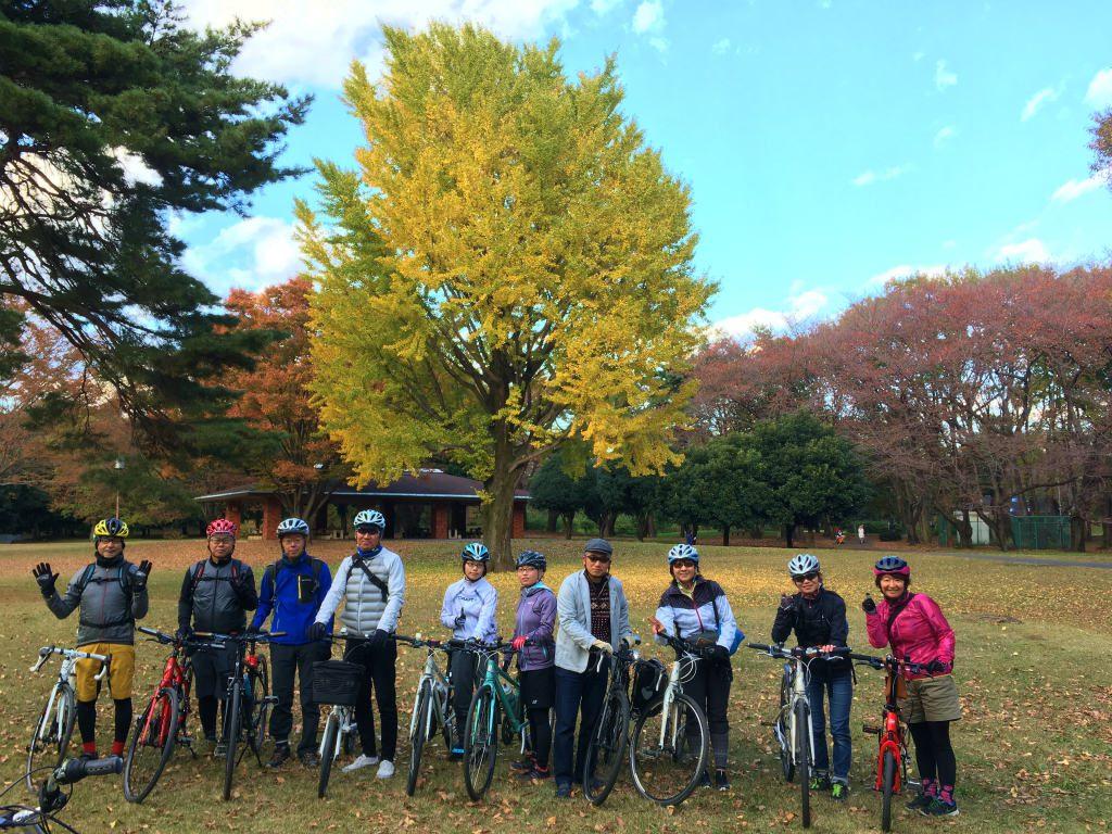 野川公園の紅葉