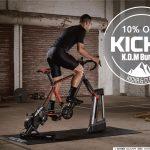 【アイテム】Wahoo スマートローラー KICKR & CLIMB (キッカー&クライム)セット 10%OFF